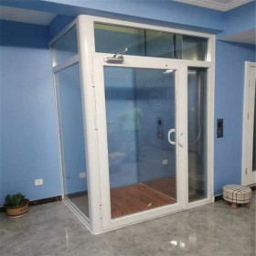 定制家庭电梯小型家用电梯室内观光乘客别墅电梯无底坑家用电梯