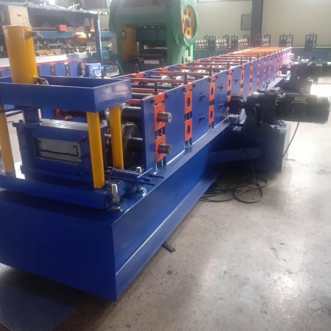 防滑建筑脚踏板设备   240/250全自动压瓦机发往献县