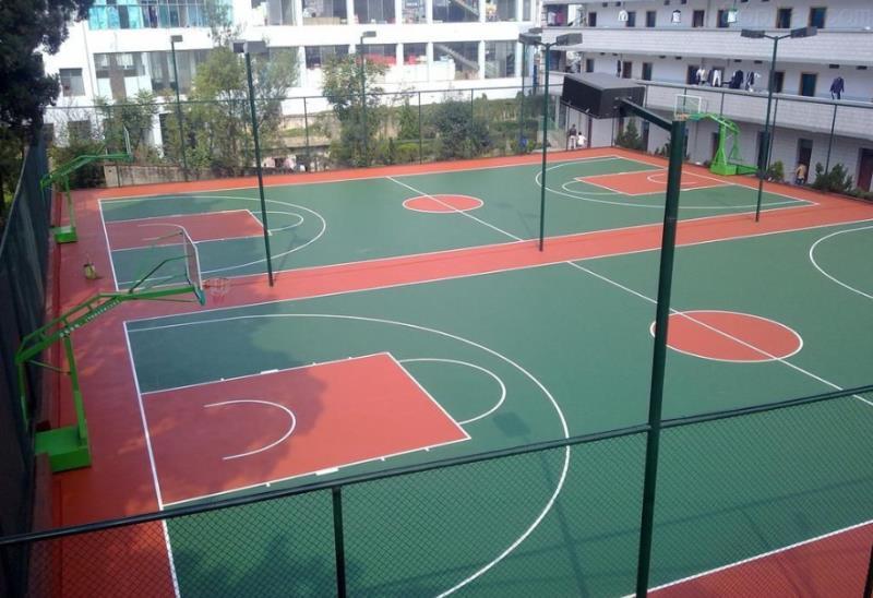 广东邦禾体育 云南 硅PU球场材料厂家