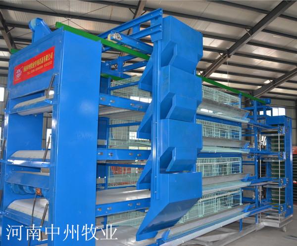 适合大小型层叠 阶梯式 层叠式上料机 自动化鸡笼上料机