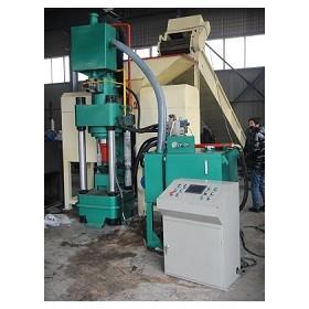 专业定制各型号钢屑|铁屑压块机高精密设备A安徽鑫源厂家供应