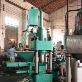 高效节能环保设备A湖南鑫源厂家直销金属屑压块机