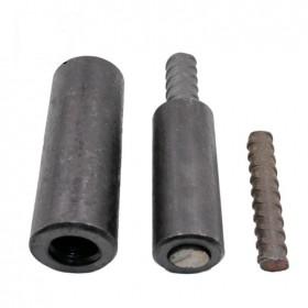 精轧螺纹钢l连接器M40晓军精轧螺纹钢锚具厂家