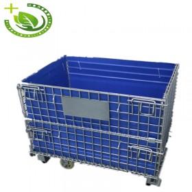 山西苹果塑料围板箱厂家  厂家直销量大优惠