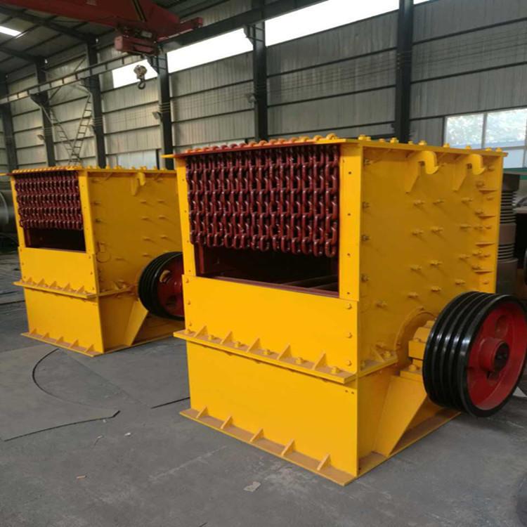 多功能石子石料箱式破碎机 可移动液压数控制砂机