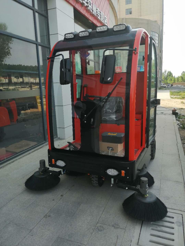 沃尔诺森驾驶式扫地车工业用扫地机广场市政环卫