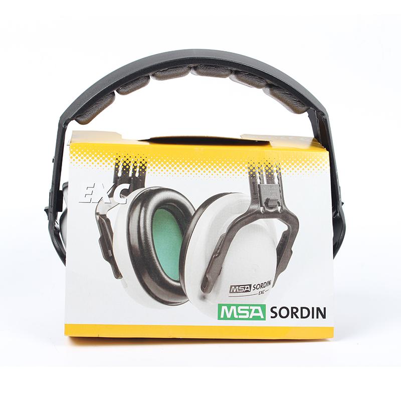 梅思安EXC卓越型头盔式碎石场防噪音耳罩
