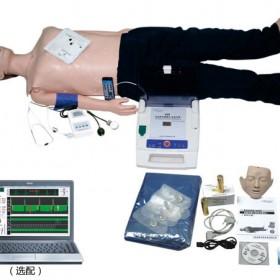 电脑高级功能急救训练模拟人心肺复苏CPR血压测量AED除颤仪