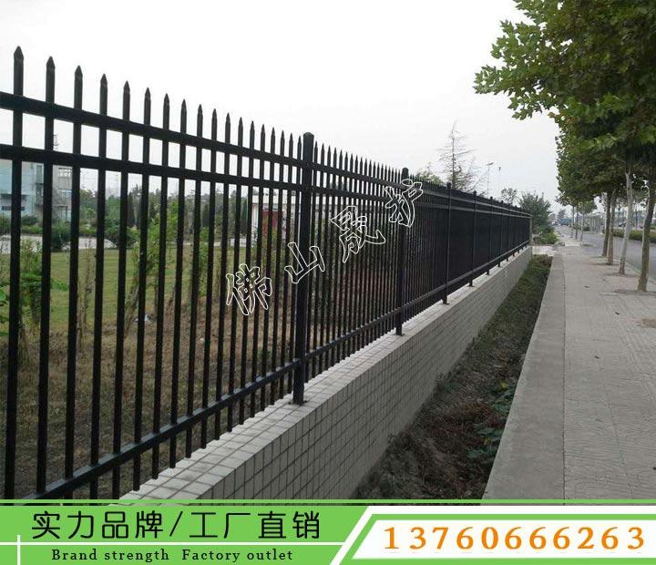 英德铁护栏安装多少钱一米 厂区锌钢围栏安装