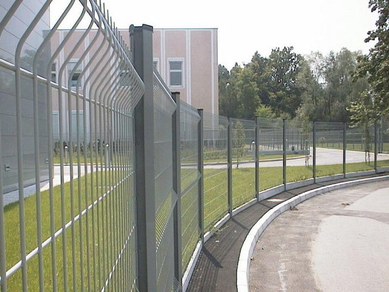 浙江小区围墙护栏网折弯护栏网围栏现货直销