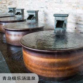 日式温泉泡澡缸 休闲洗浴缸 定做洗浴陶瓷缸