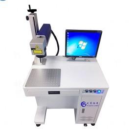 不锈钢光纤激光打标机打标logo二维码塑料打标机深圳厂家直供