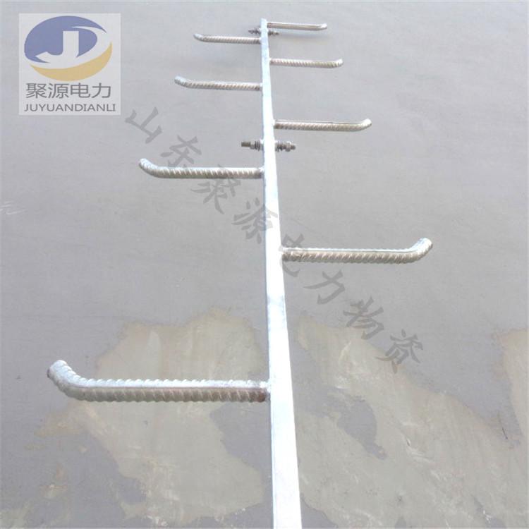 方管材质爬梯加工 热镀锌钢管爬梯定制 电杆爬梯加工厂家
