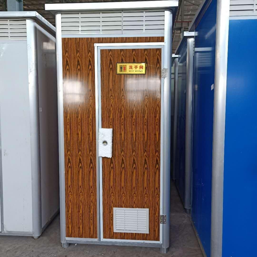 沧州普林钢构移动厕所  移动旱厕   移动淋浴间。