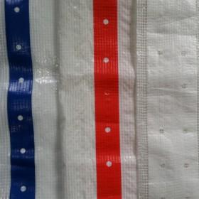 厂家生产阻燃网格布 加强条网格布 加强筋PE阻燃网格布