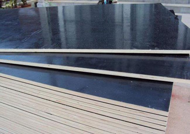 黑覆膜防水建筑模板工地杨木板