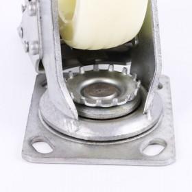 河北科森4寸工业中型重型尼龙塑料脚轮