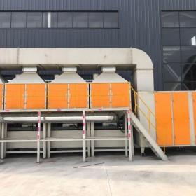 清大环保催化燃烧设备工艺流程