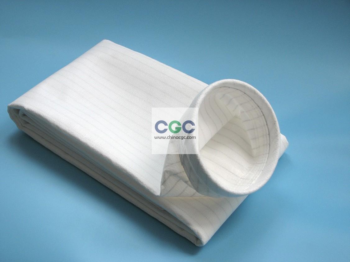 涤纶针刺毡防水防油防静电滤袋
