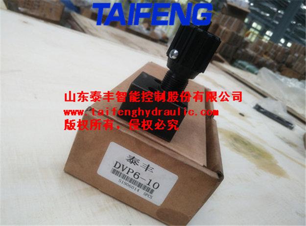 供应泰丰DRVP6-10板式单向节流阀