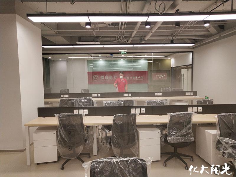 办公室装修后快速去除甲醛化大阳光办公室除甲醛公司