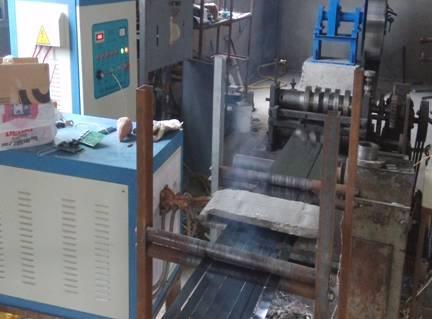 钢带烤蓝涂腊生产线