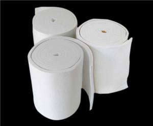 高温炉隔热耐火材料 锆铝硅酸铝陶瓷纤维毯