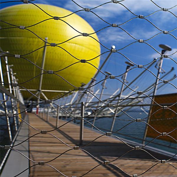 不锈钢绳网,桥梁围网,高档护栏网