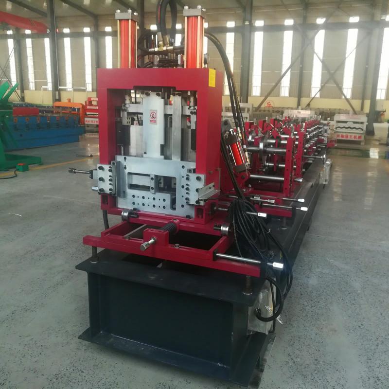 泊头兴和供应全自动换型cz型钢一体机设备檩条设备