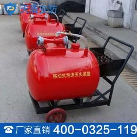 移动式低倍数泡沫灭火装置 泡沫装置功能 热销移动式装置