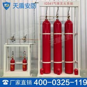 IG541混合气体灭火系统 气体灭火剂 自动控制系统