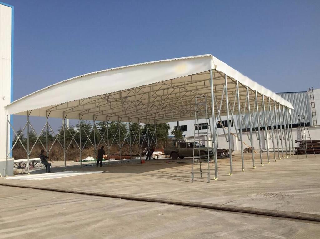 腾达专业定制大型活动防水雨棚