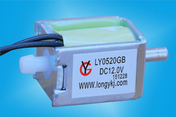 深圳龙壹放气电磁阀型号LY0520GB