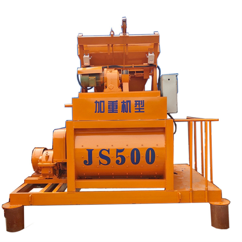 JS系列强制式混凝土搅拌机 水泥石子双卧轴搅拌设备