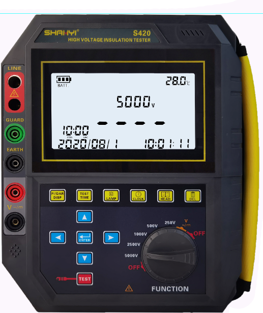 S420绝缘电阻测试仪(高压兆欧表)