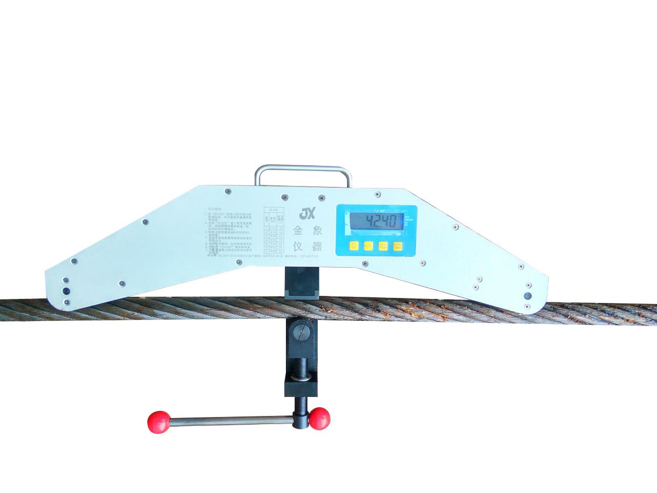 预应力拉线张力测力装置 拉索张紧力测力仪