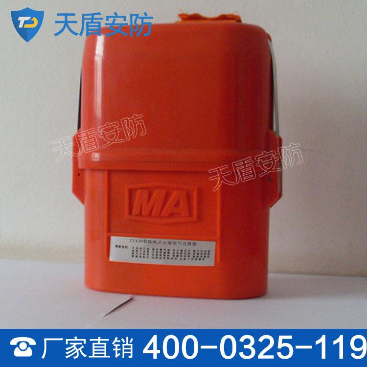ZYX30隔绝式压缩氧自救器 呼吸保护装置 隔绝自救器生产商