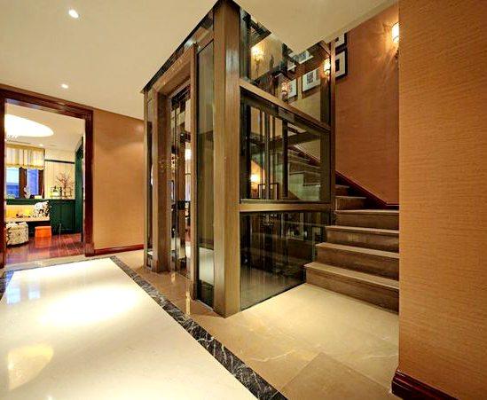 小型家用别墅电梯,液压电梯,观光电梯