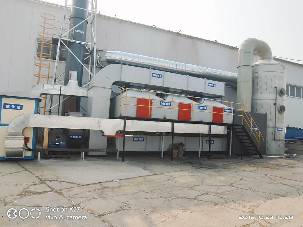 RCO+沸石转轮吸附浓缩装置