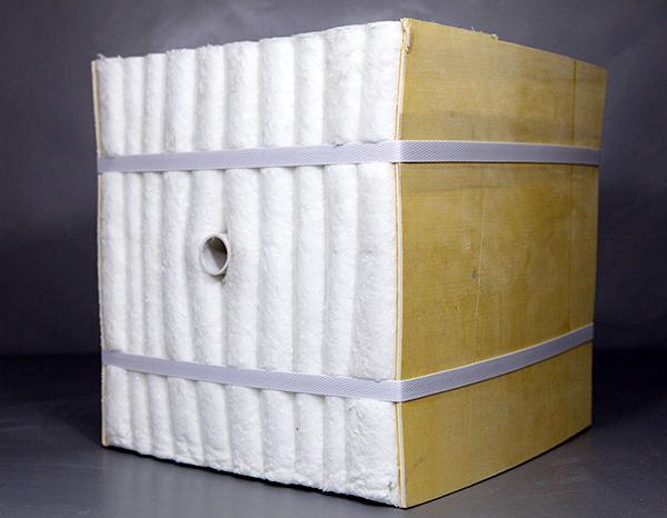 山西炭化炉保温材料陶瓷纤维模块折叠块