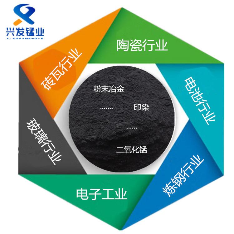 兴发锰业供应玻璃砖瓦着色锰粉
