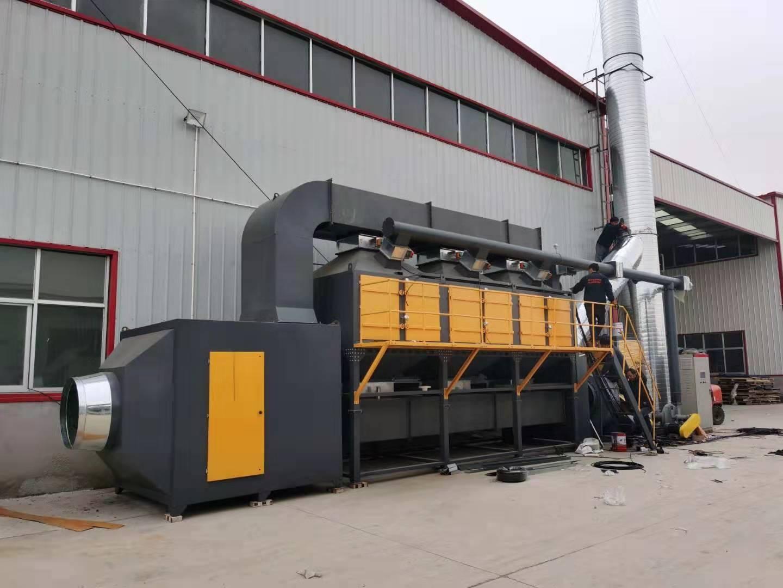 诺和环保催化燃烧废气处理环保设备工业废气净化活性炭吸附脱附