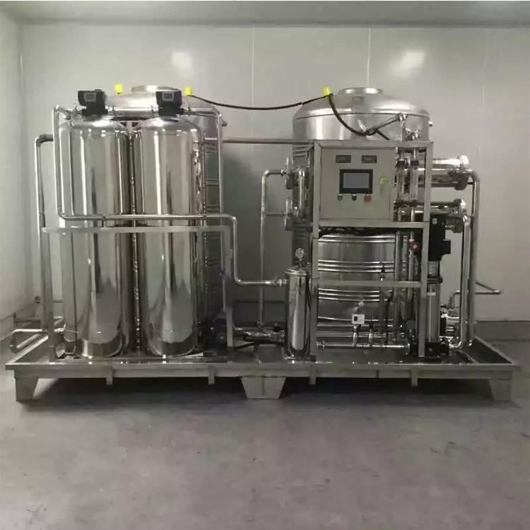 余姚市工业纯水机,机械表面清洗用水,反渗透纯水设备