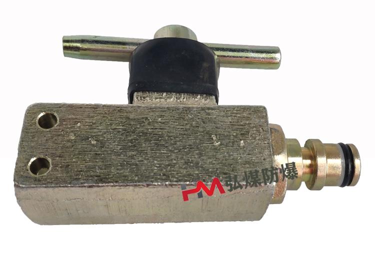 QJ-16矿用液压管路配件镀锌球阀