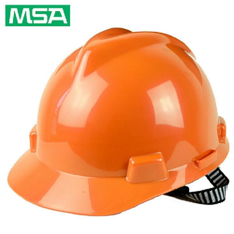 MSA梅思安VGARD安全帽ABS和PE的区别