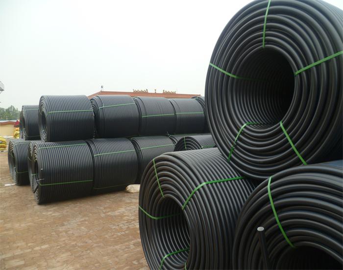 厂家直销HDPE材质碳素管波纹管