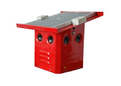 遥控式高压电子驱鸟器工作原理