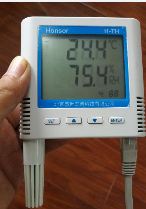 关于POE供电的以太网温湿度变送器
