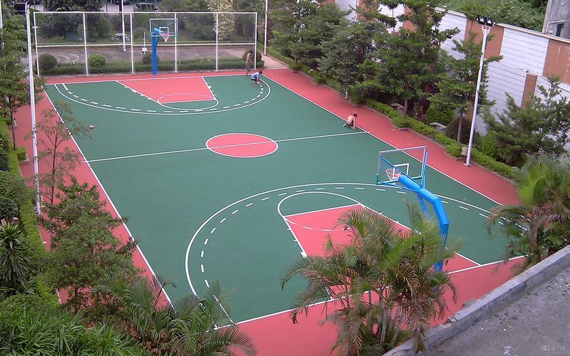 塑胶跑道-环氧地坪-PVC地板-