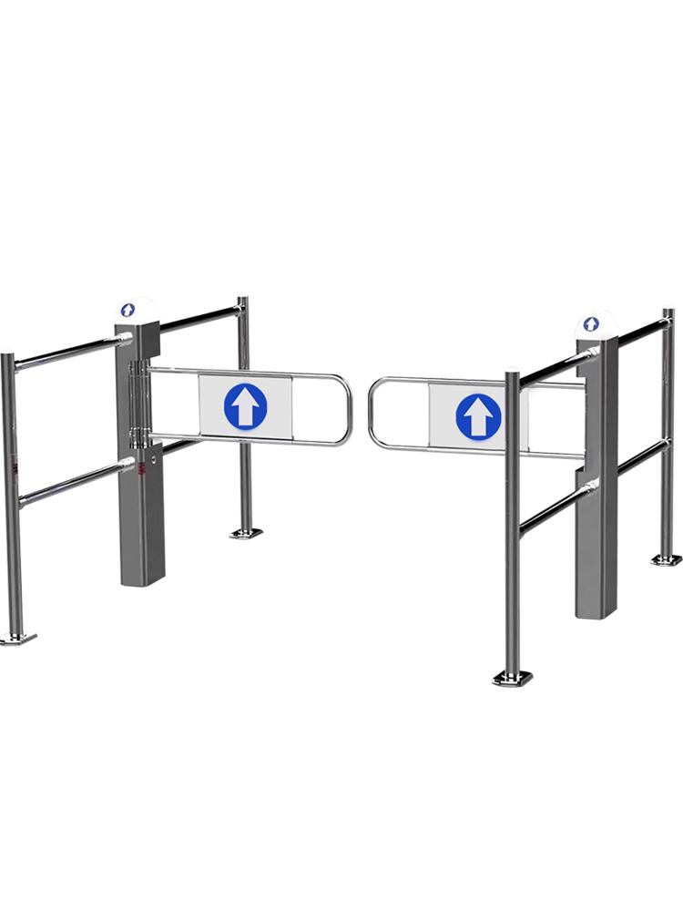 6柱超市感应门护栏道闸商场自动防盗门识别